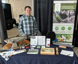 ISC Employee at Career Fair